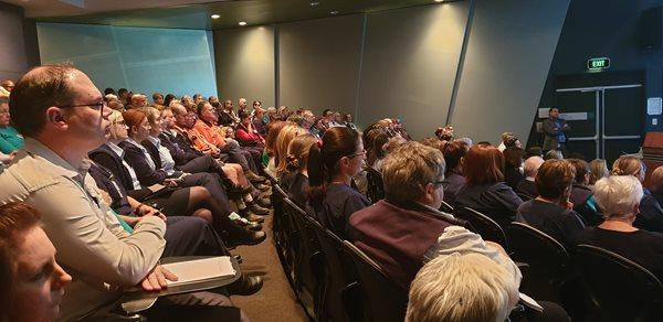 John Hunter Health and Innovation Precinct Master Plan presented to staff